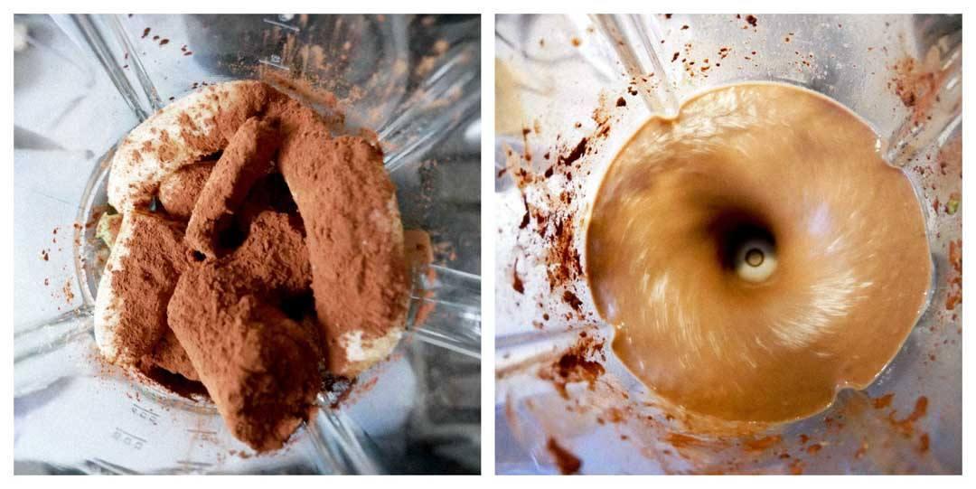 opskrift på kakao smoothie