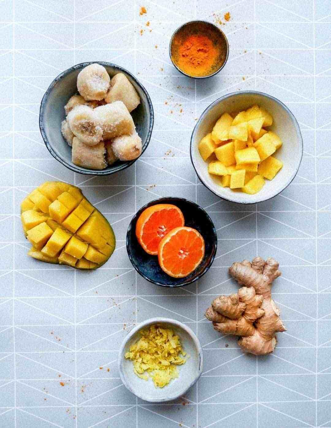 best banana mango smoothie