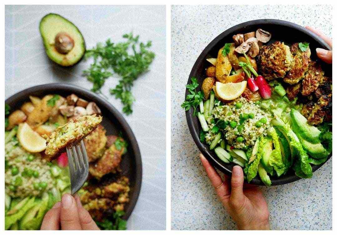 bedste grøntsagsfrikadeller vegetar micadeli