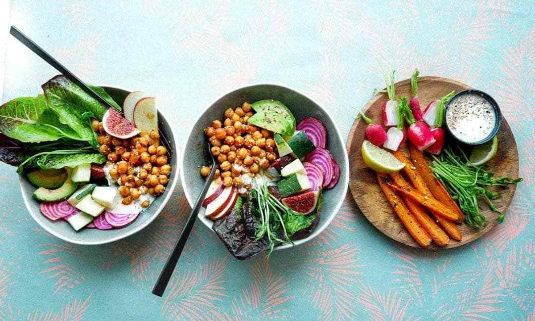 sunde salater kikærter