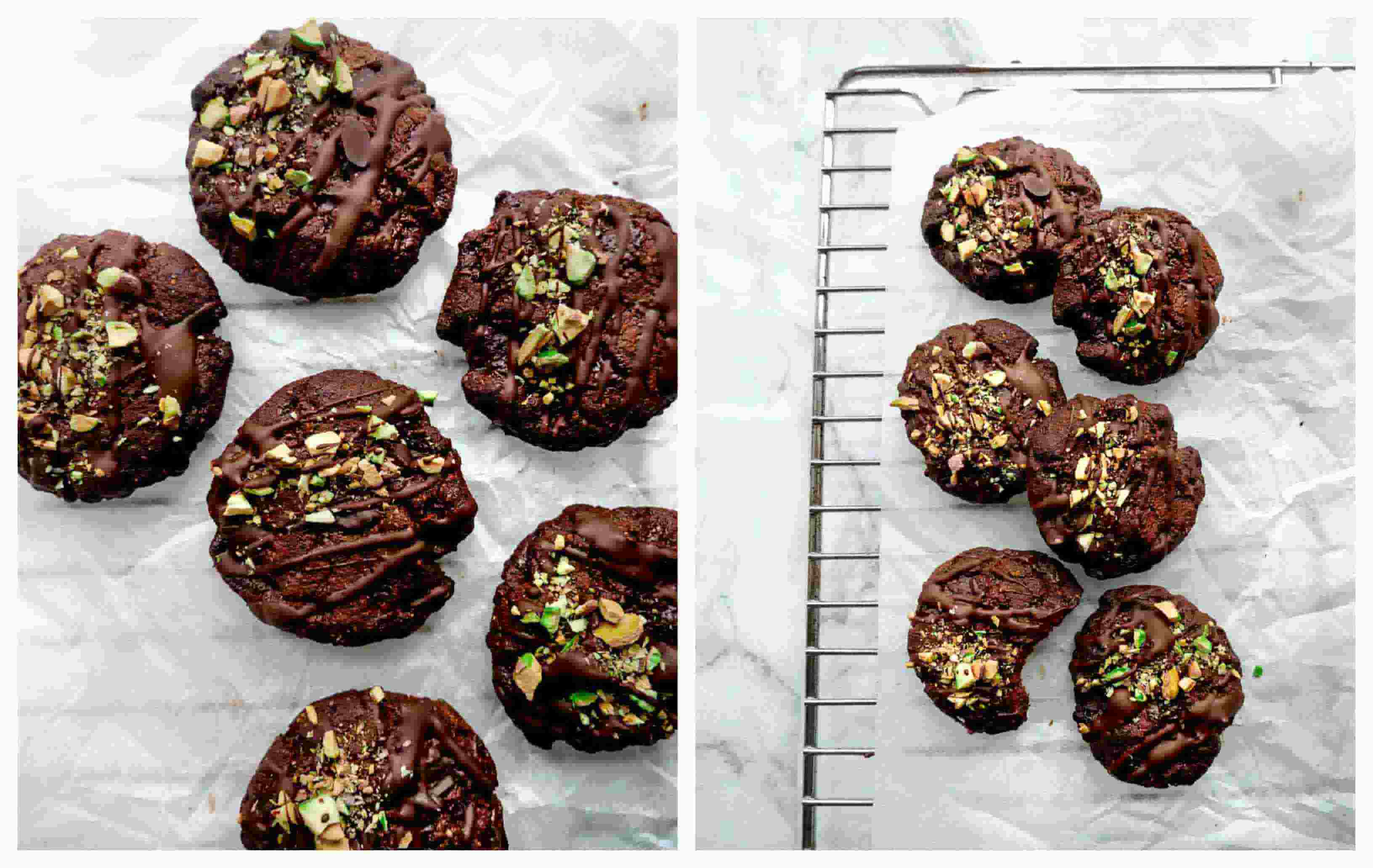 chocolate cookies vegan recipe