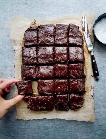 nem chokoladekage vegansk frosting