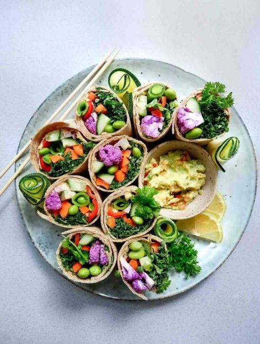nem guacamole wraps