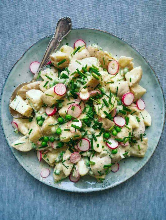 den bedste opskrift på kartoffelsalat