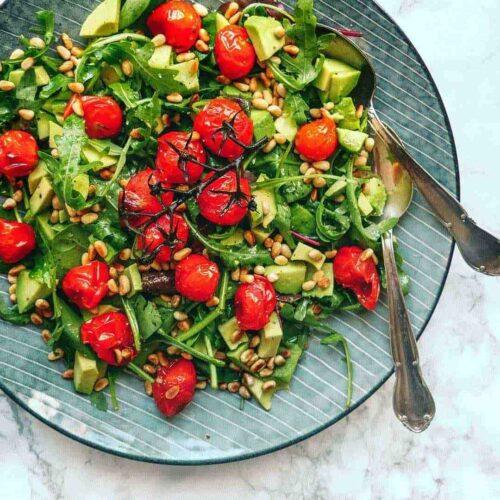 rucola-salat-avocado-salad