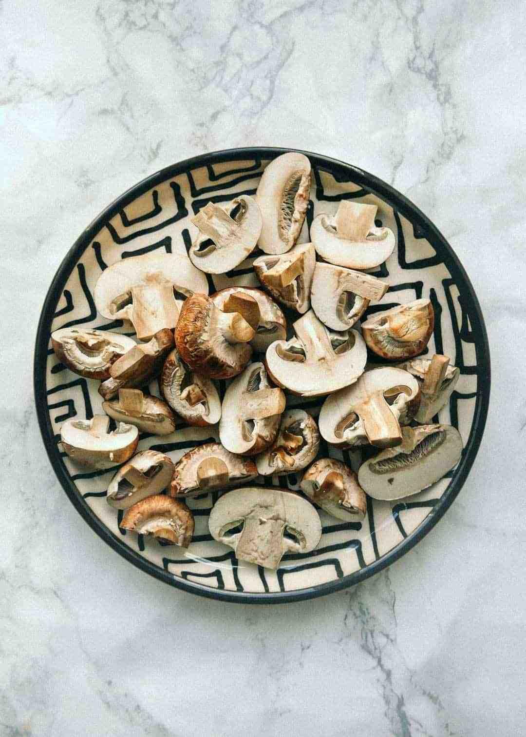 seasonal fresh mushrooms