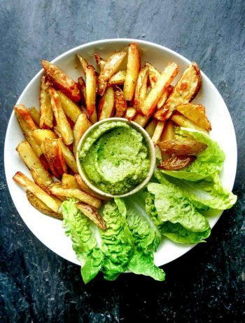avocado dip french fries