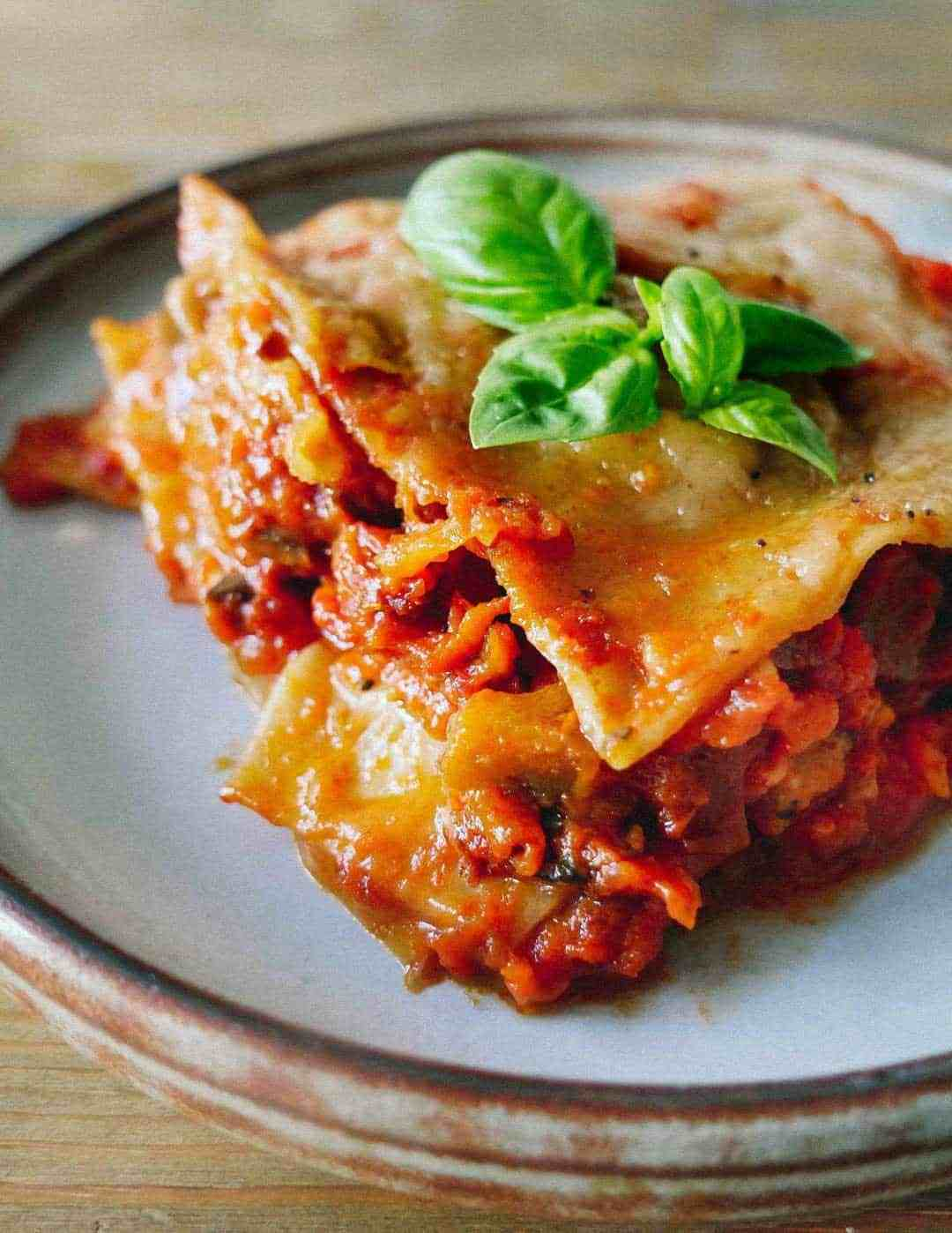 vegan lasagna best recipe