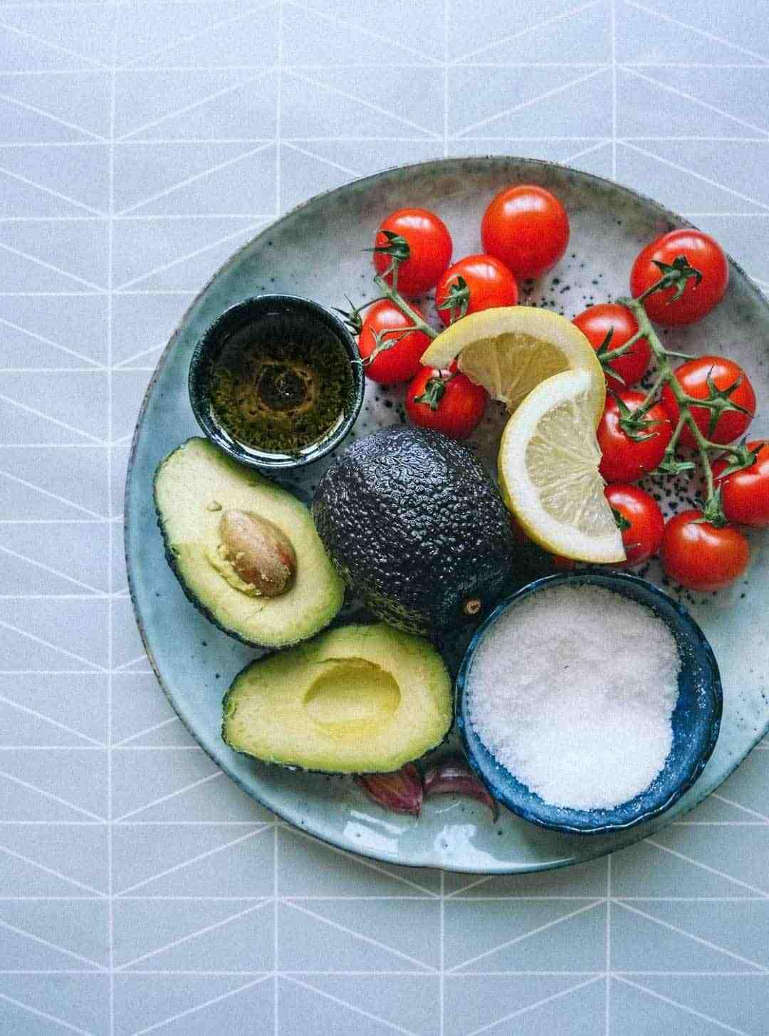 avocadosalat ingredienser