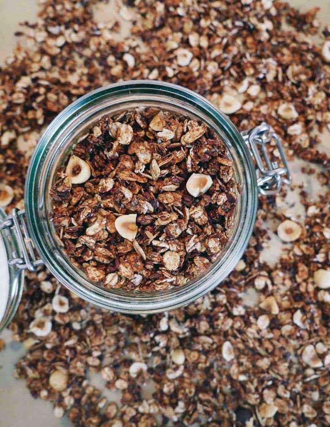 chocolate granola recipe