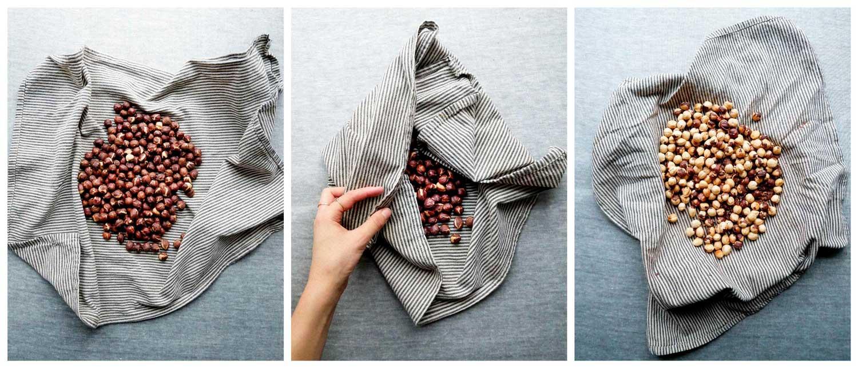 how to make roasted hazelnuts