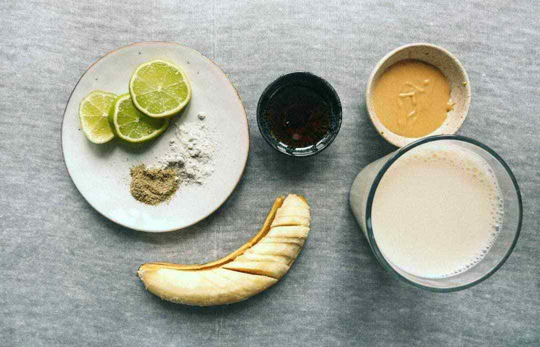 peanutbutter smoothies ingredienser