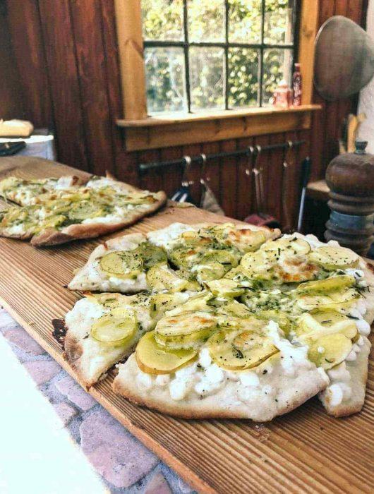 kartoffelpizza hjemmelavet pizzadej