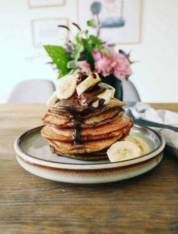 pancakes vegan fluffy