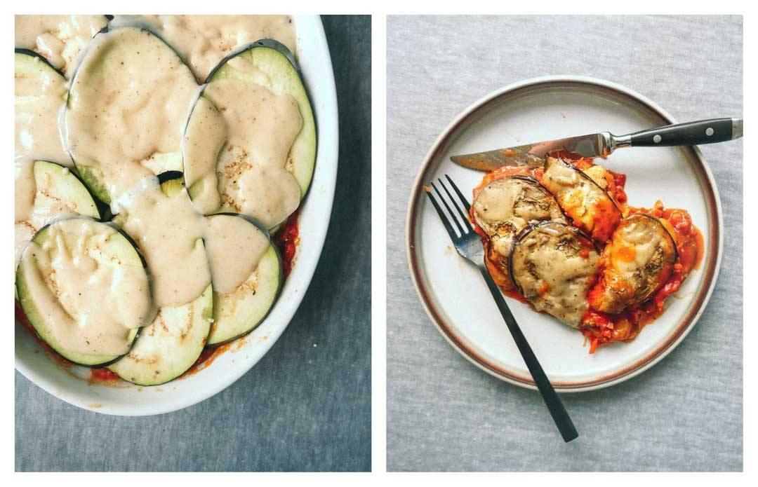 vegan moussaka ingredients recipe