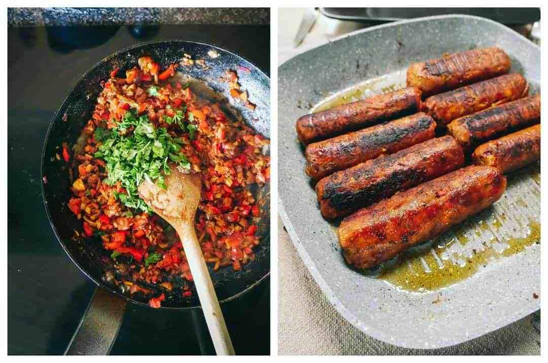sausage mix vegan