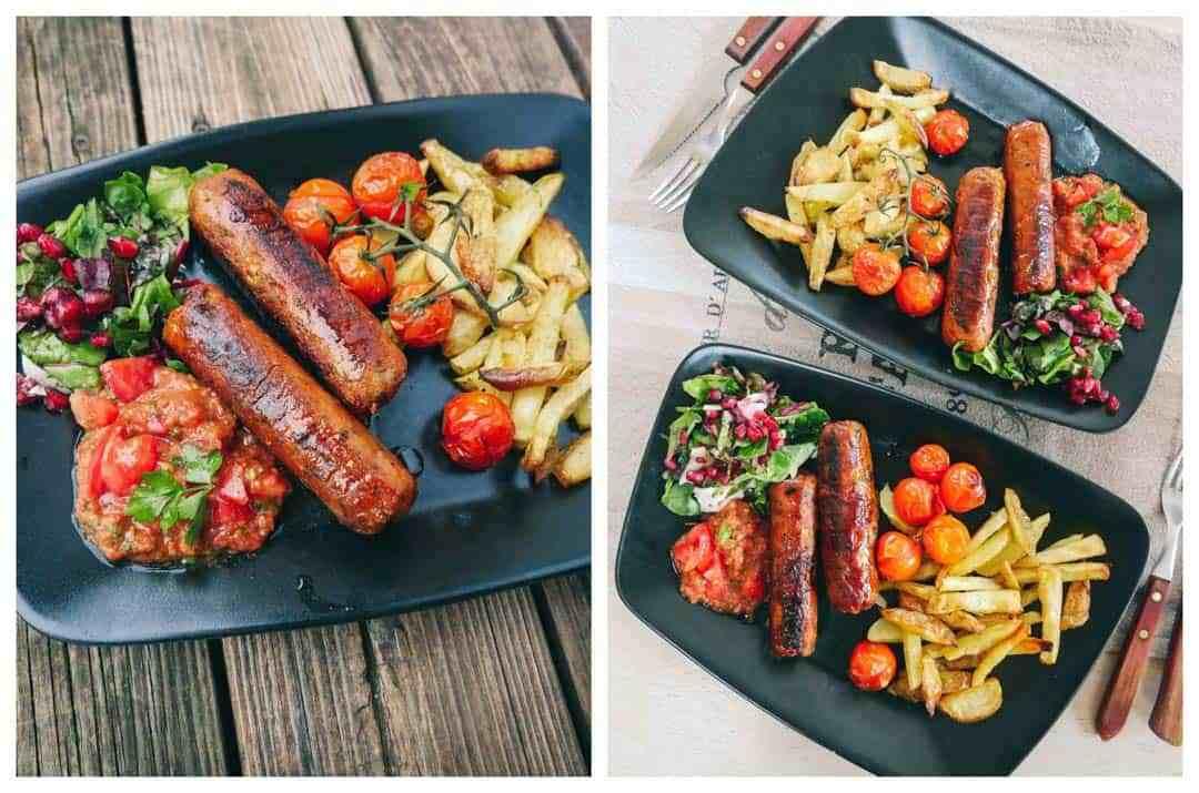 vegan grill sausages recipe