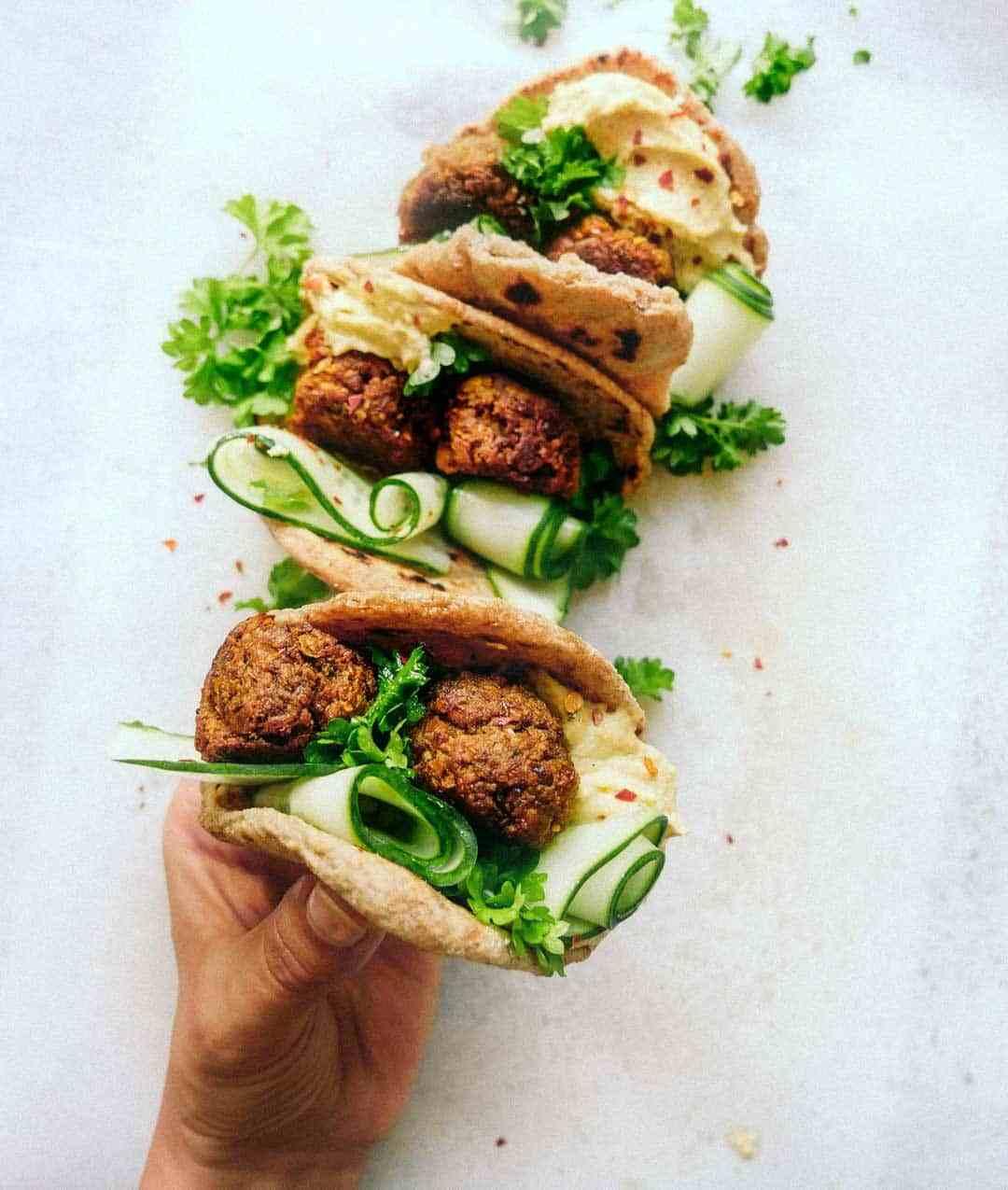 falafel meatballs recipe