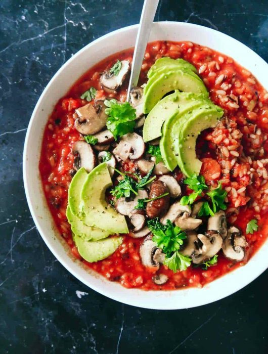 vegetarisk gryde simre ret ris