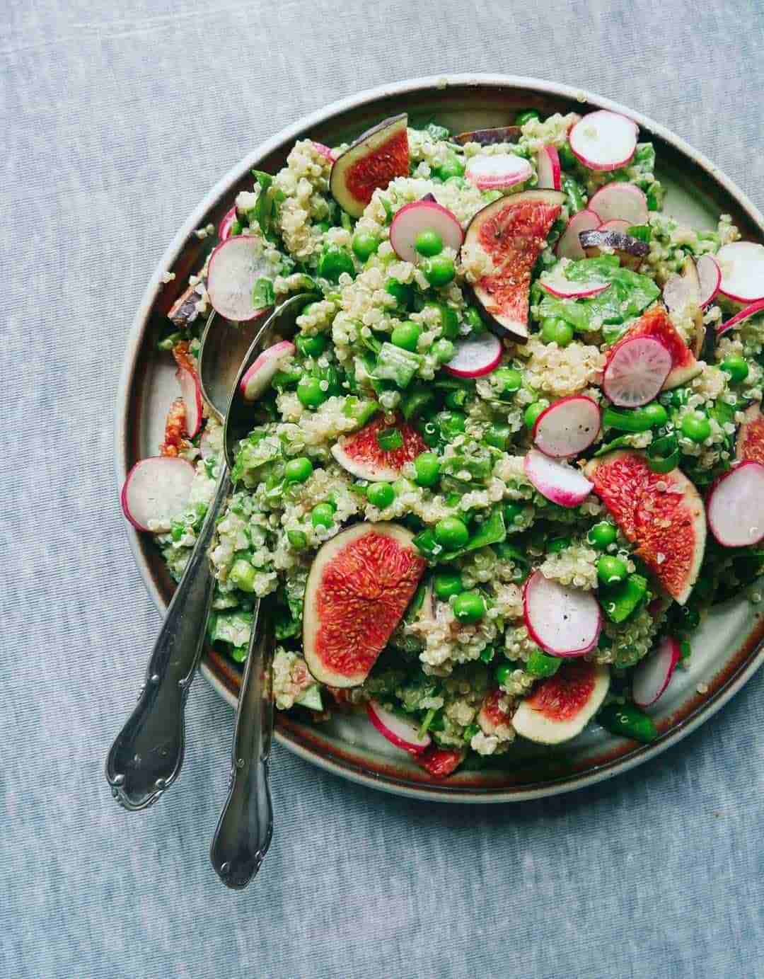 quinoa salad with figs