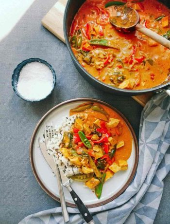 sri lanka karry ret vegetar tofu