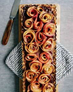chocolate apple tart recipe micadeli