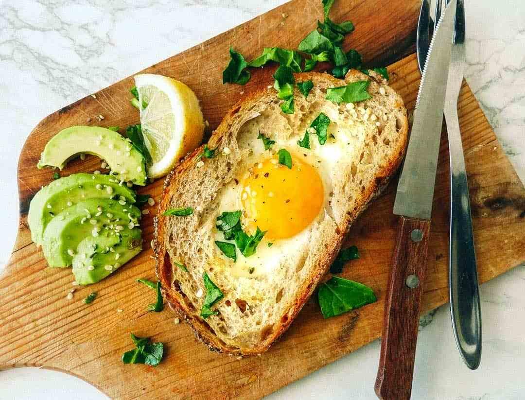nem opskrift på franskbrød og æg