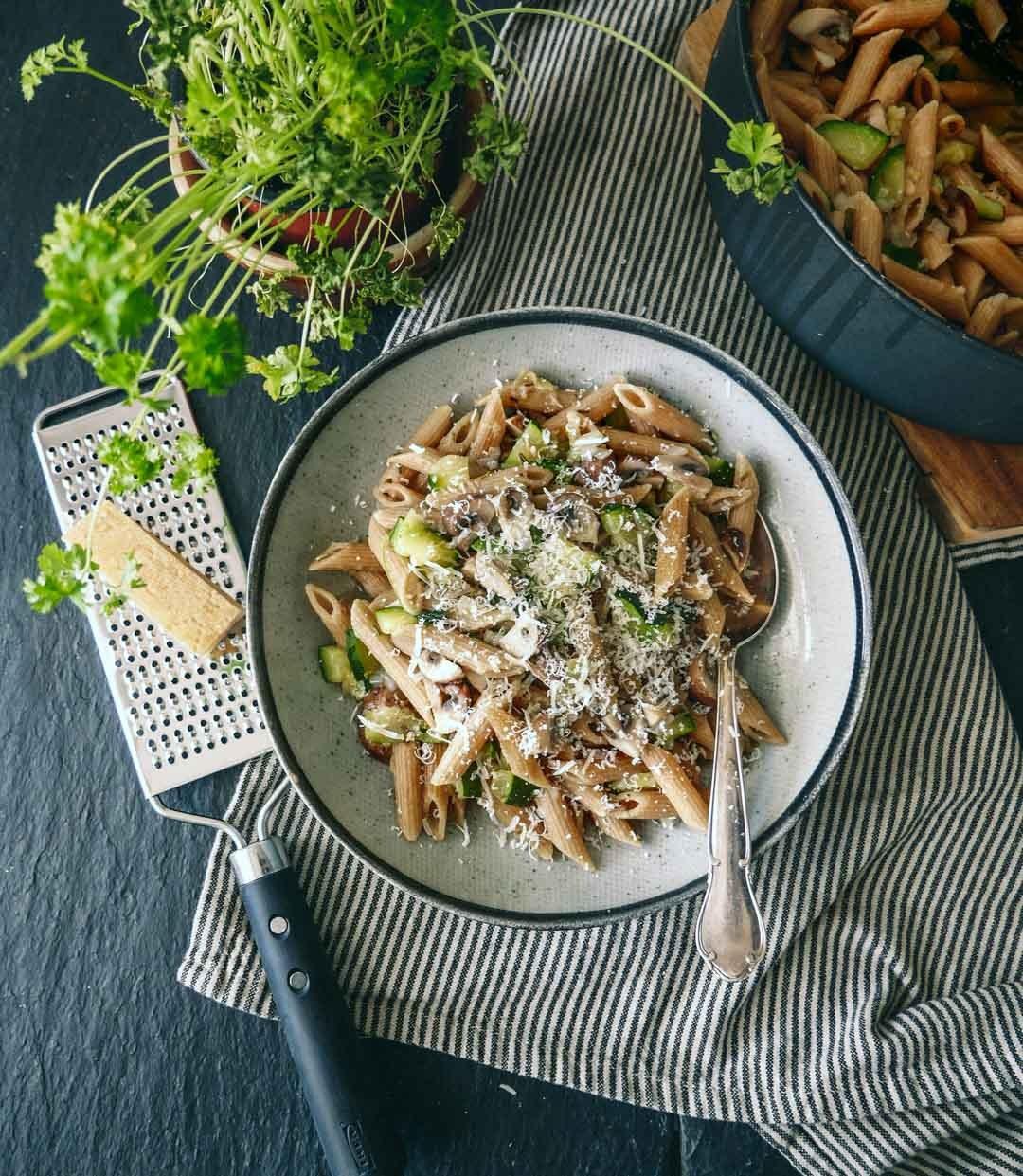 one pot pasta vegetar opskrift