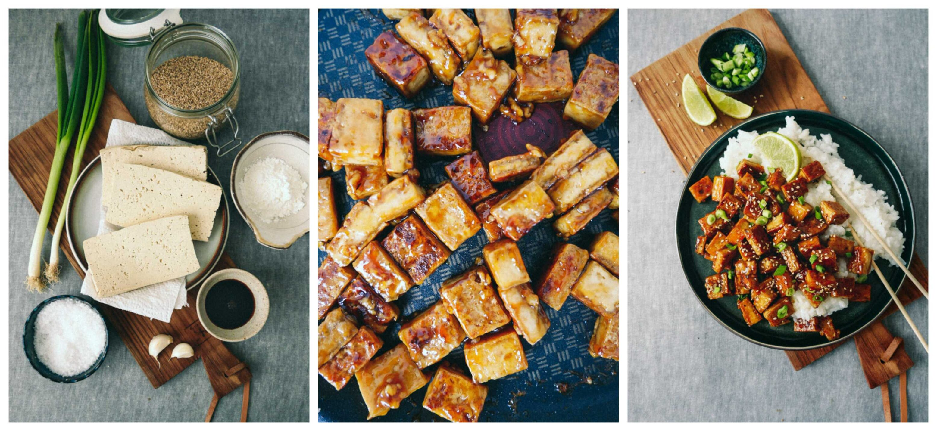 Fried caramelized tofu RECIPE