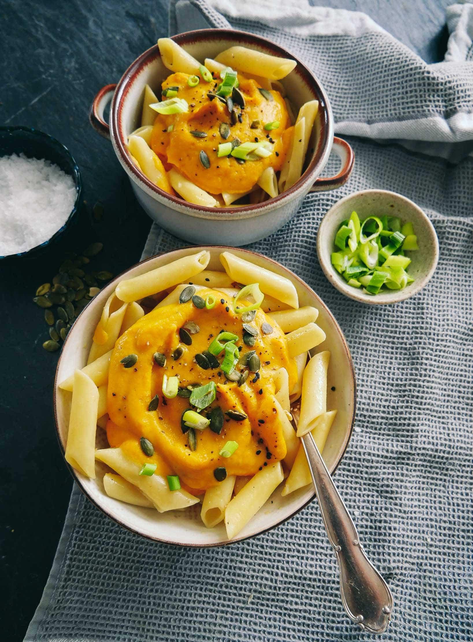 butternut squash recipe with pastas