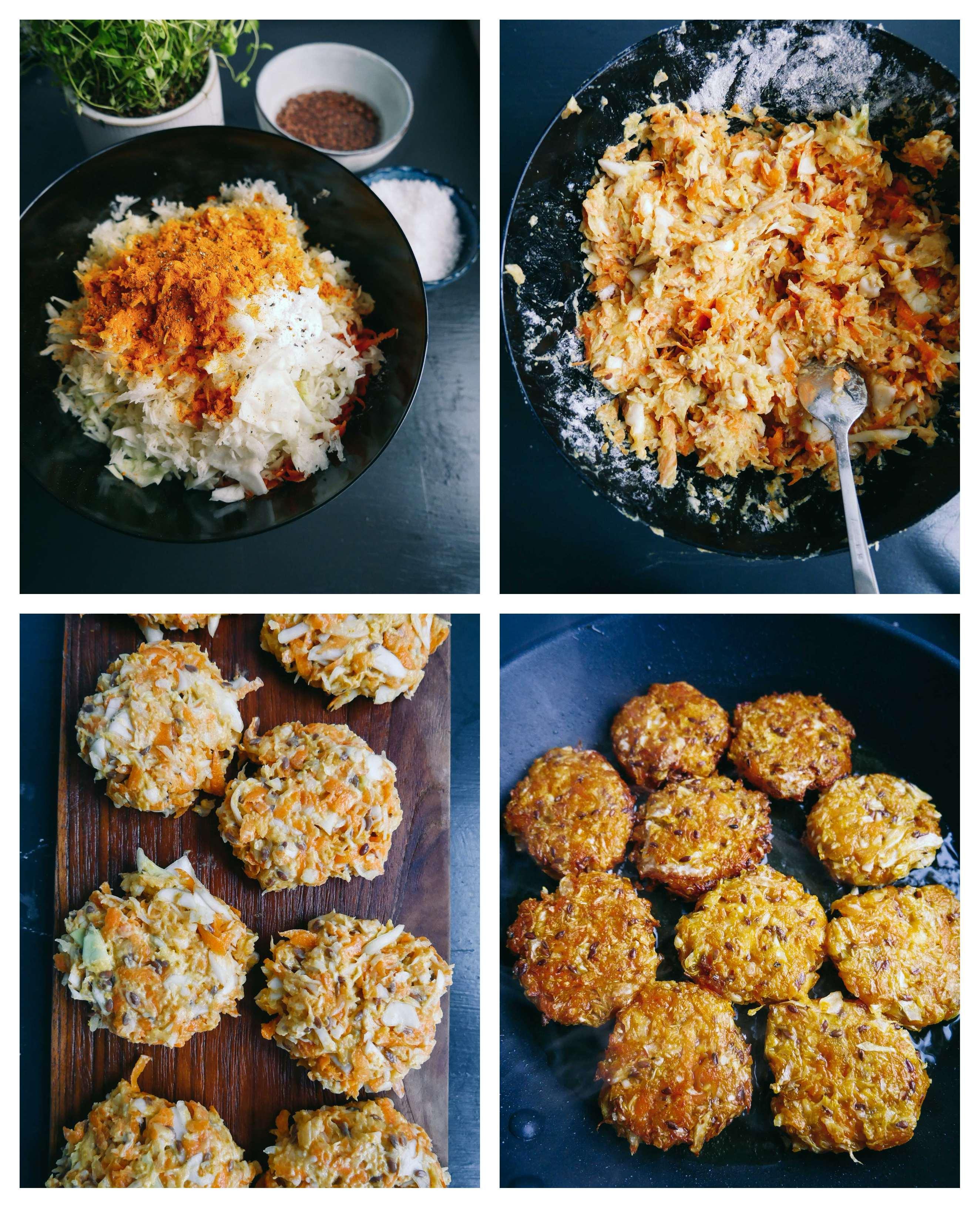 vegan cabbage patties how to cook