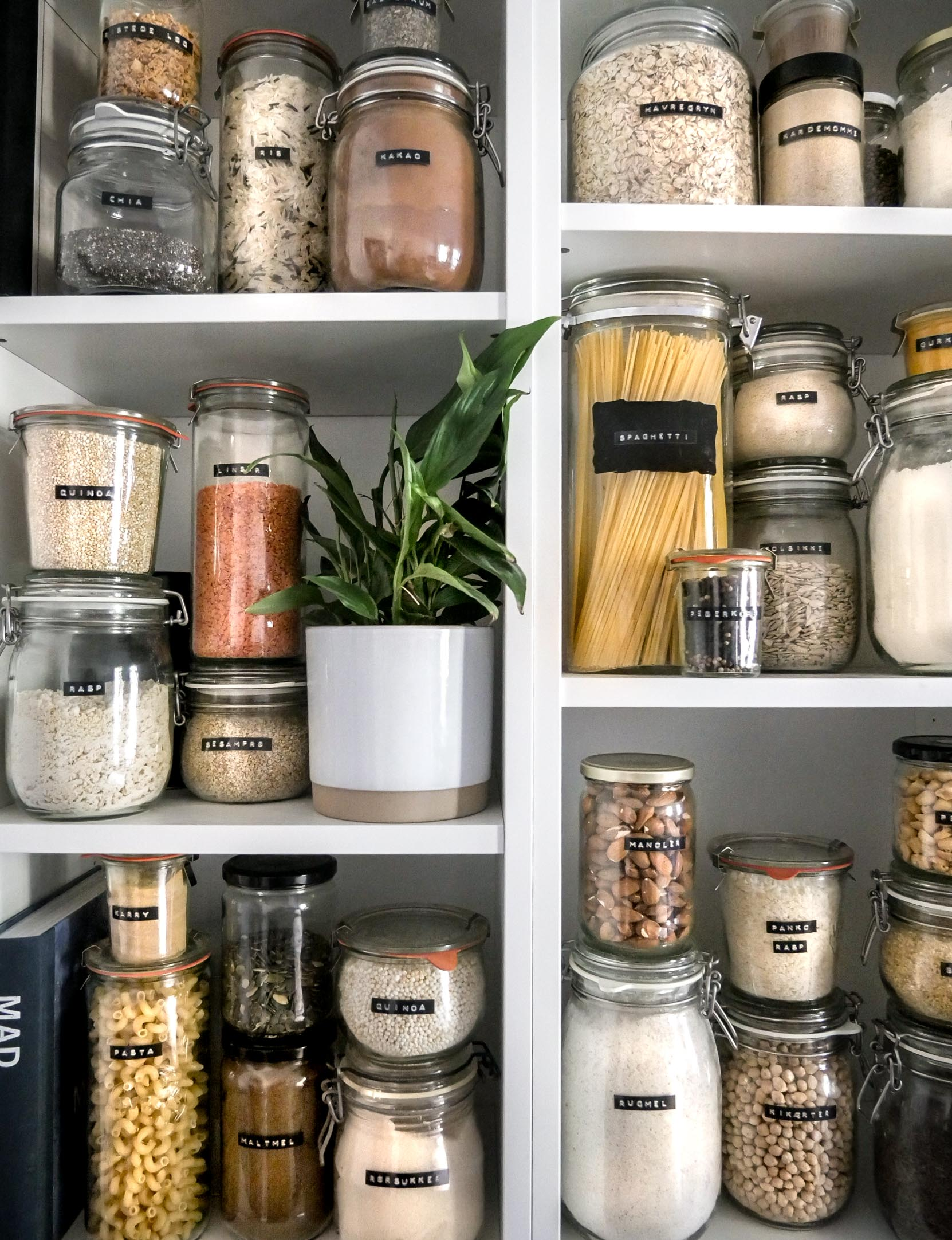 storage and glass labels how to