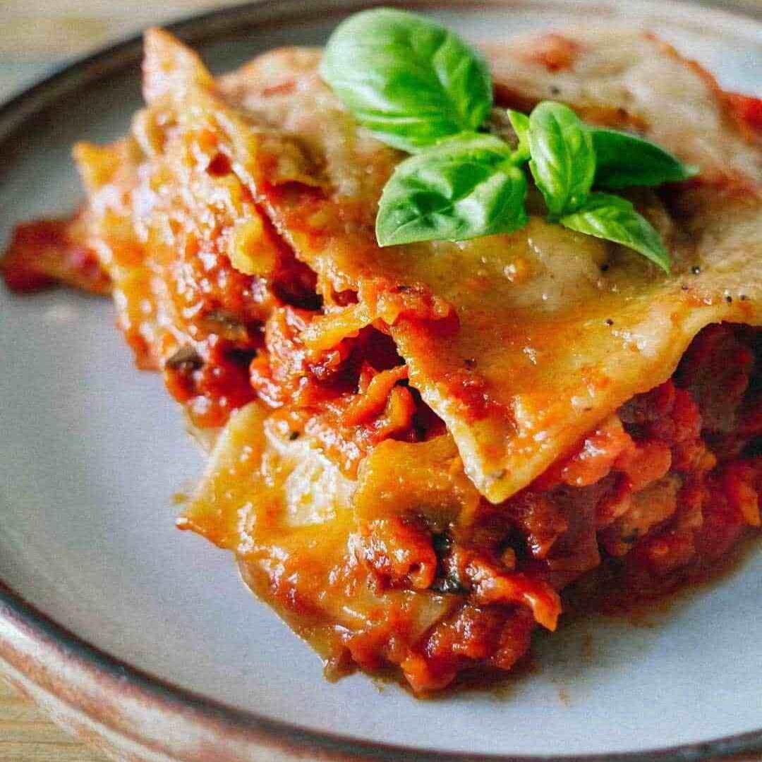 vegetable lasagna italian
