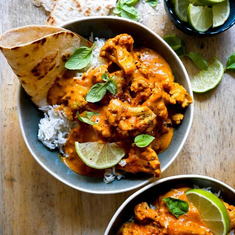 vegan cauliflower curry in 20 mins for meatfree dinner